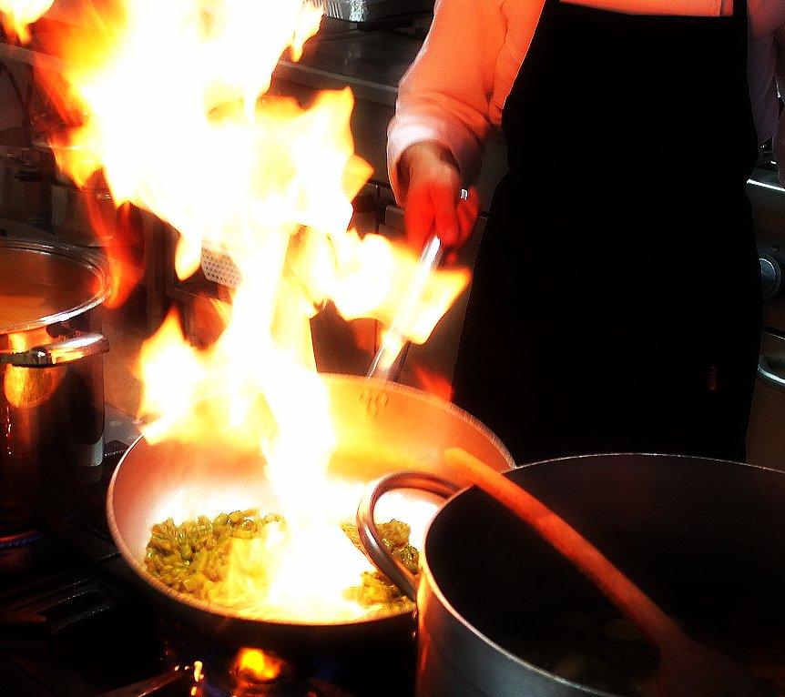 La Cucina fa Spettacolo.